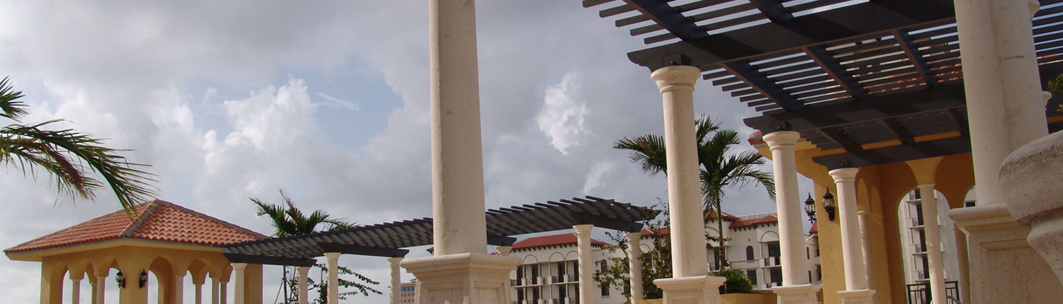 cropped photo of iron structure outside