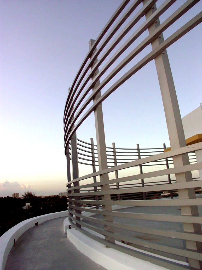 cropped photo of iron railing for the lofts at mayfair
