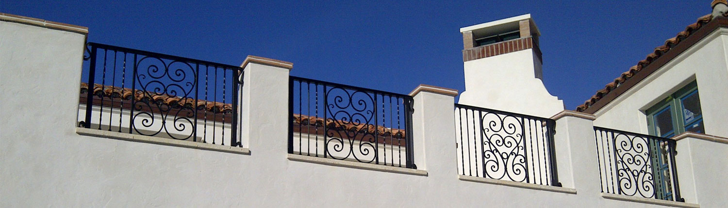 cropped photo of iron fencing
