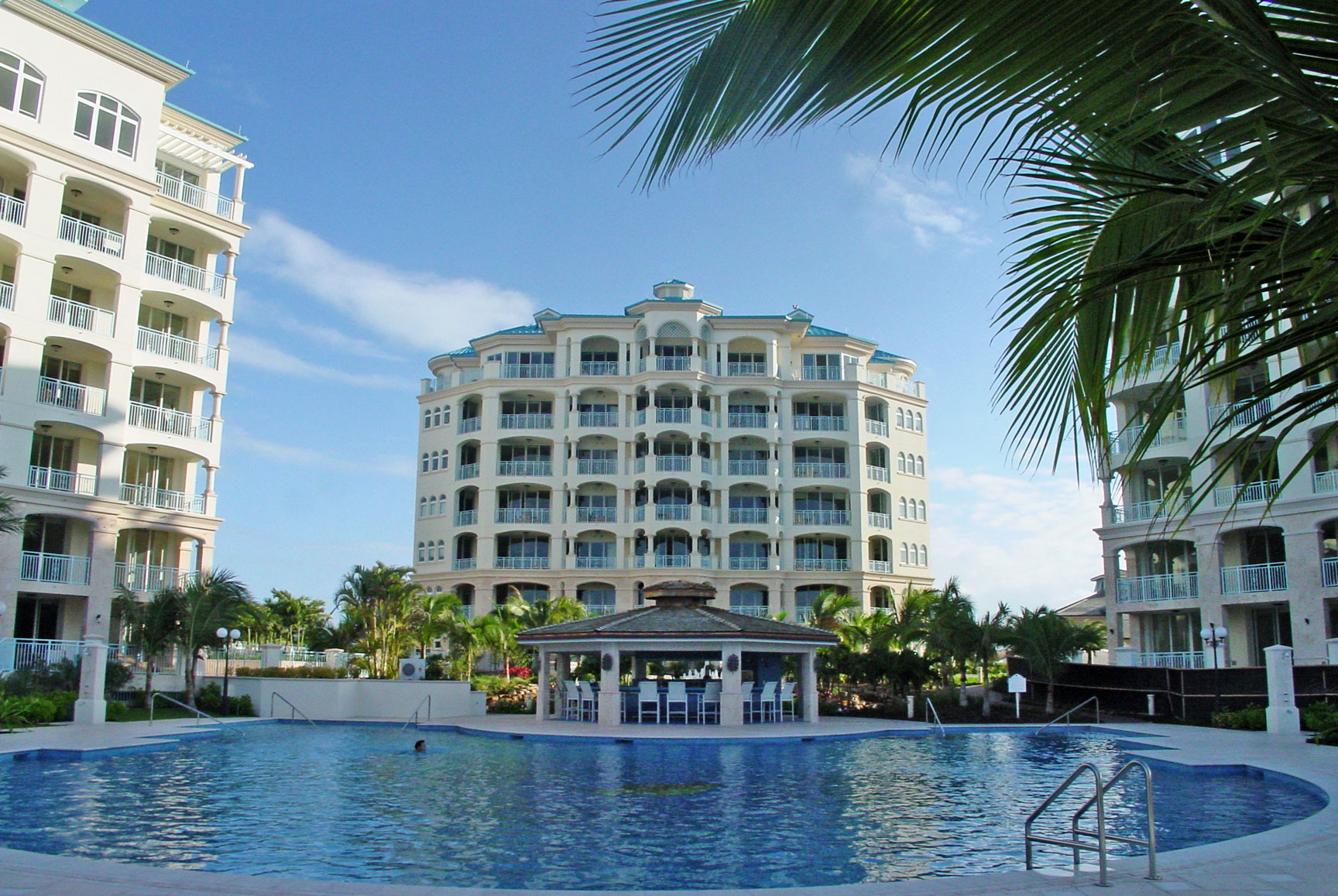 exterior photo of the seven stars resort