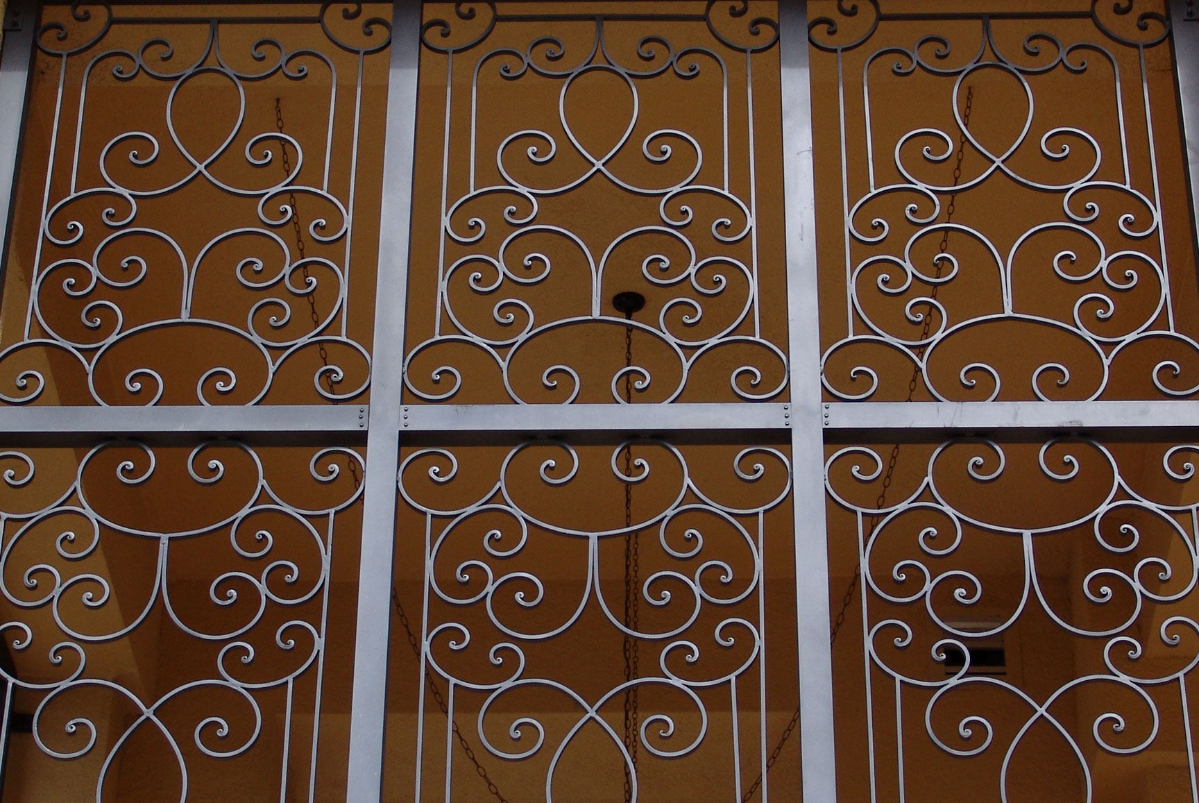 photo of commercial iron gate